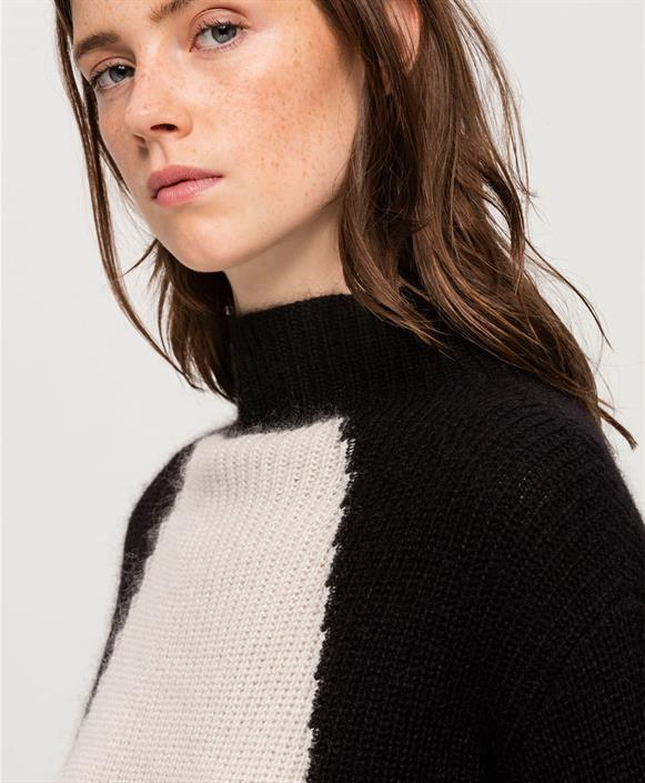 Luisa Cerano Rib Knit Sweater