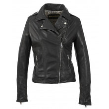Load image into Gallery viewer, Oakwood Palm Black Genuine Leather Jacket