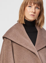 Load image into Gallery viewer, Cinzia Rocca BLACK ICONS CAPE WITH SHAWL COLLAR