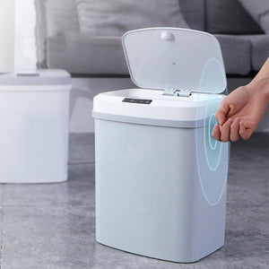 Smart Trash Can, Kick Trash Can, Automatic Trash Can