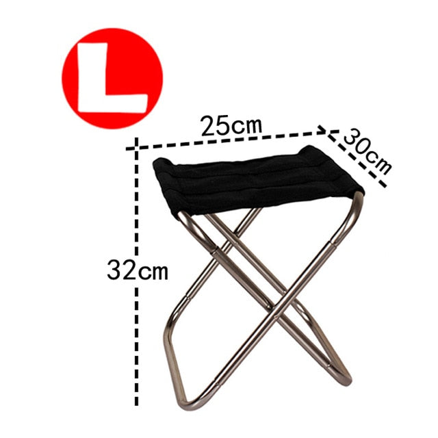 Folding Chair - Lightweight Aluminium Picnic Camping
