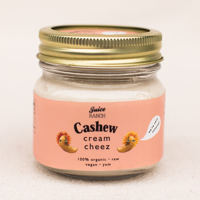 Cashew Cream Cheez/Cheese (two types)