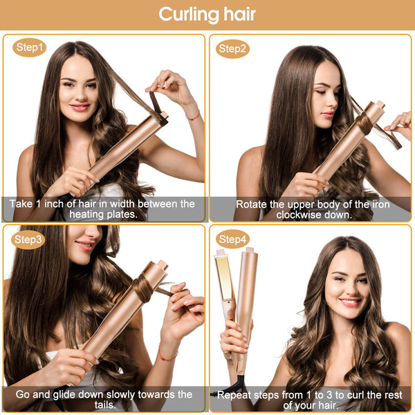 Automatic Hair Curler Roller Air Spin N Curl 1 Inch Ceramic Rotating Curler Magic Hair Curling Iron Salon Curlers Dropshipping