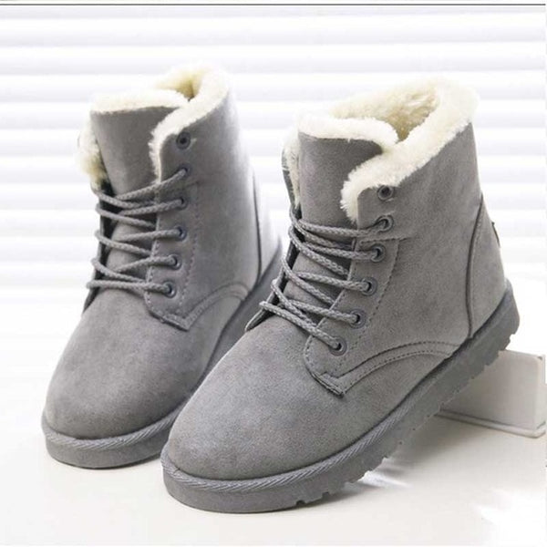 Women Boots Winter Warm Snow Boots
