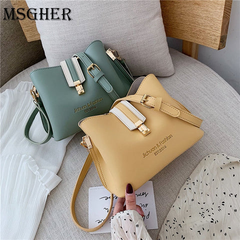 PU Leather Cross body Bags For Women 2020
