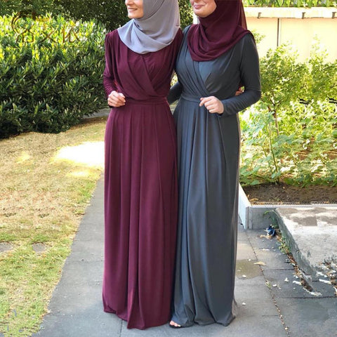 Turkish Hijab Muslim Dress