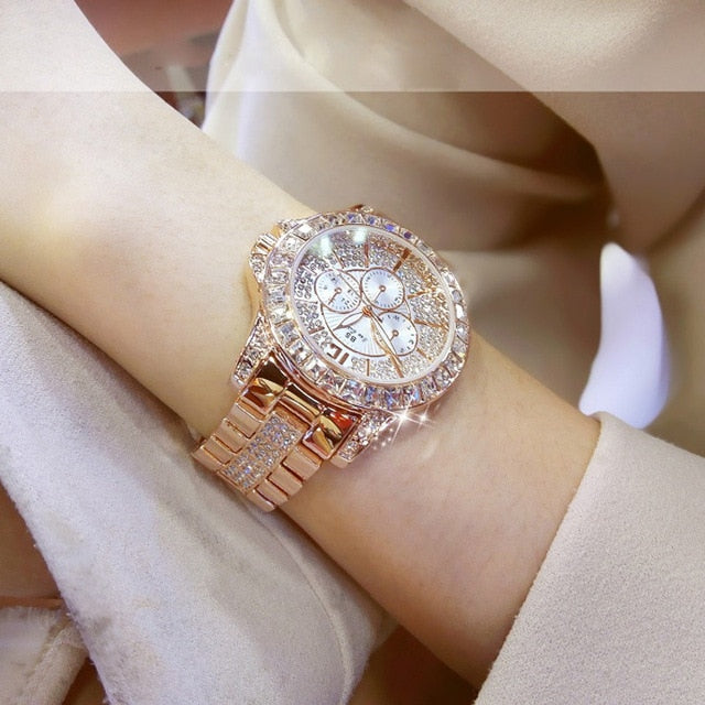 Luxury Brand Women Watches 2019 Fashion Creative Rose gold Ladies Quartz Watch Women