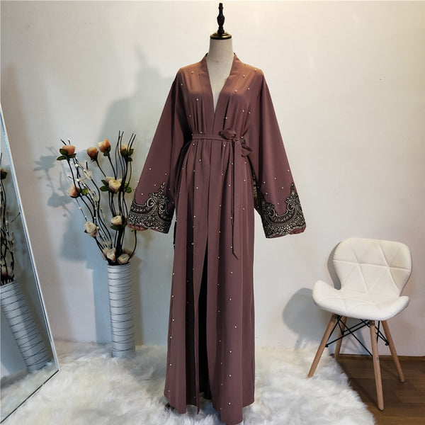 Cardigan Hijab Dress Abayas For Women