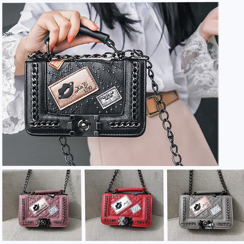 Chain Square Sling Bag 2020 New Style WOMEN'S