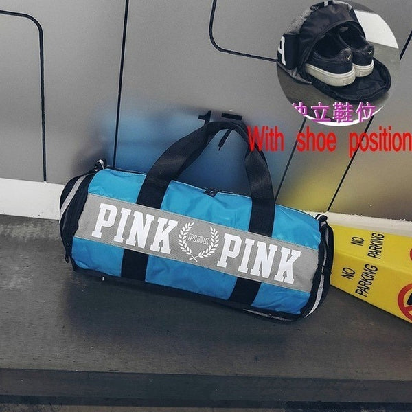 2020 New Cheap Sequins Black Gym Bag Women Shoe Compartment Waterproof Sport Bags For Fitness Training Yoga Bolsa Sac De Sport