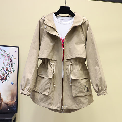 2020 New Spring autumn Trench Coat