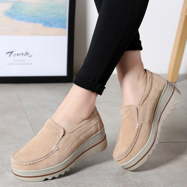 2020 Spring Women Shoes Platform Flats Sneakers