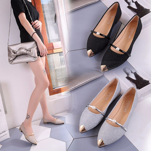 2021 Spring New Ladies Flat Shoes