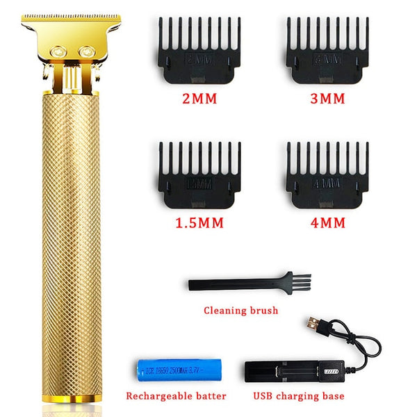 Men's Hair Trimmer Clipper Professional Baldheaded Cutter