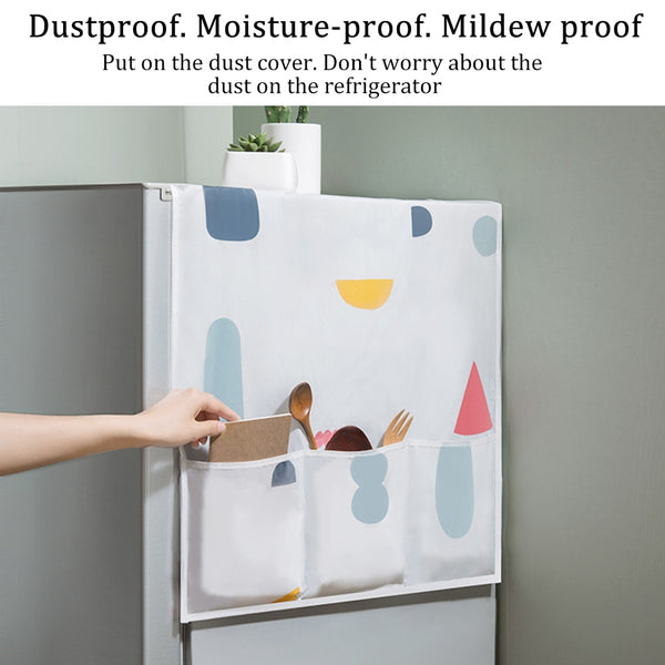 Kitchen Anti-Dust Waterproof Refrigerator Covers