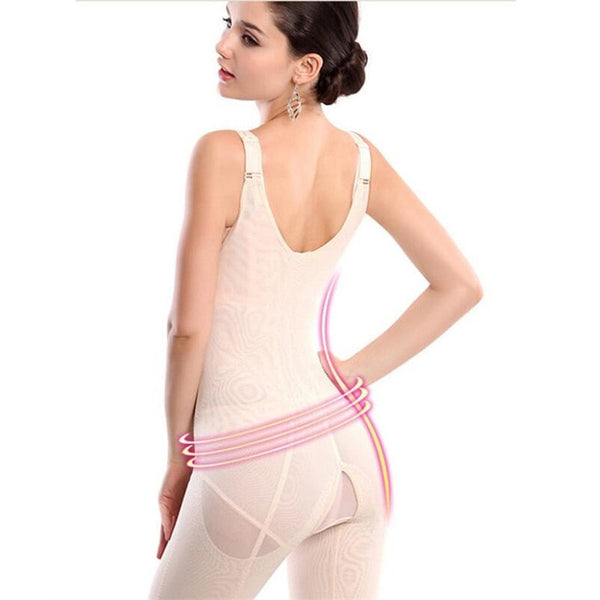 Women Slimming Underwear bodysuit Waist Trainer Body Shaper Corrective Underwear Magnet Shaperwear Loss Weight corset