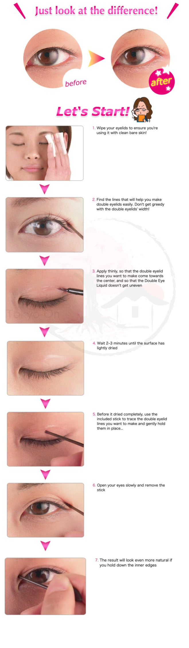 Tokyo-On AB Automatic Beauty Water Resistant Eyelid Film