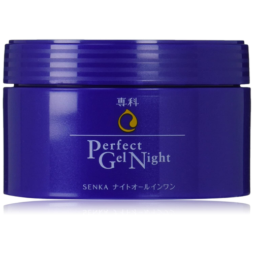 Shiseido Senka Perfect Night All in One Facial Cream 100g - Tokyo-On