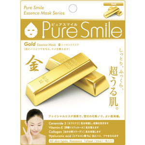 SunSmile Pure Smile Gold Essence Facial Mask - Tokyo-On