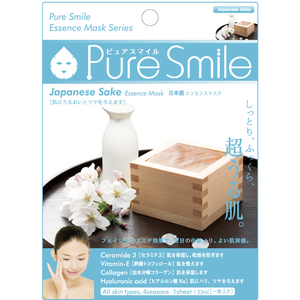 SunSmile Pure Smile Sake Essence Facial Mask - Tokyo-On