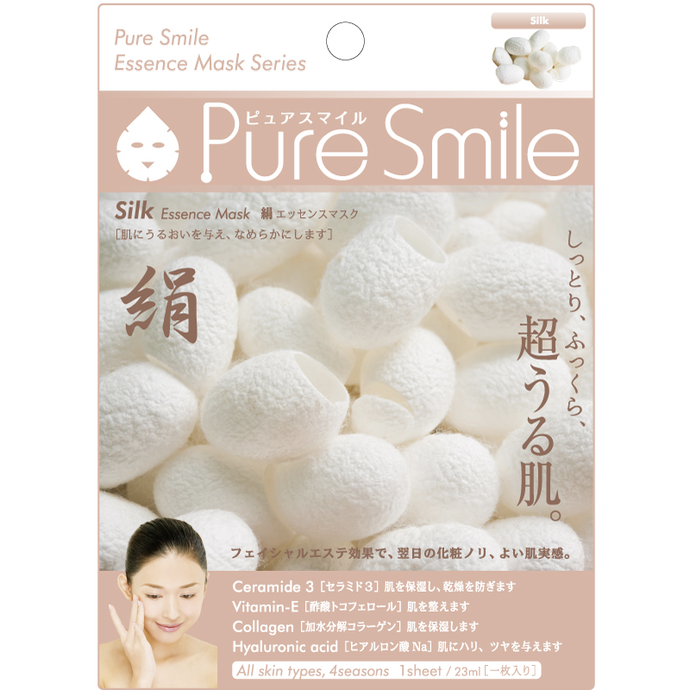SunSmile Pure Smile Silk Essence Facial Mask - Tokyo-On