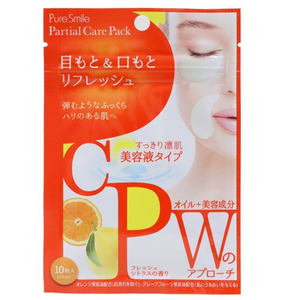 SunSmile Pure Smile Refresh Partial Care Pack 10 Sheets - Tokyo-On