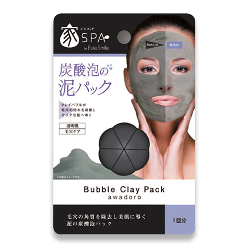 IESPA Black Sheet Bubble Clay Pack - Tokyo-On