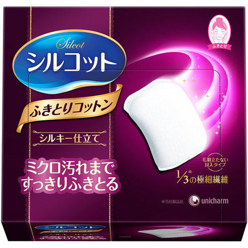 Unicharm Silcot Cotton Pads (32 Sheets) - Tokyo-On