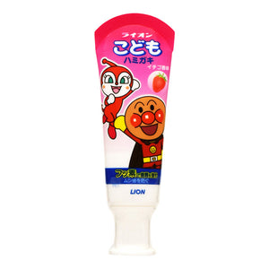 Lion Anpaman Children's Strawberry Toothpaste 40g - Tokyo-On
