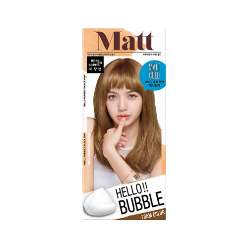 Mise En Scene Hello Bubble Hair Dye #8MG Matt Gold - Tokyo-On