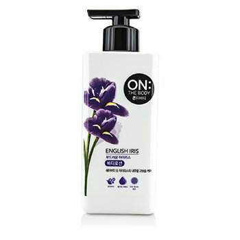LG On The Body English Iris Body Lotion 500ml - Tokyo-On