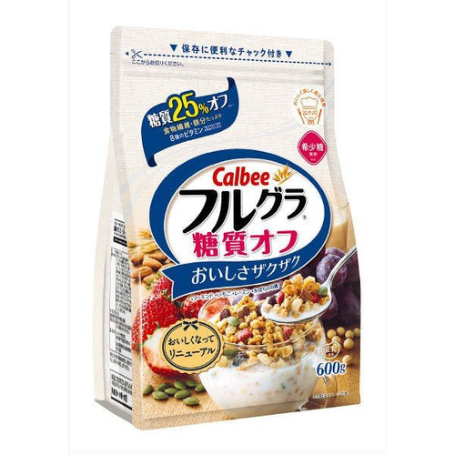 Calbee Fruit Granola With 25% Reduced Sugar 600g - Tokyo-On