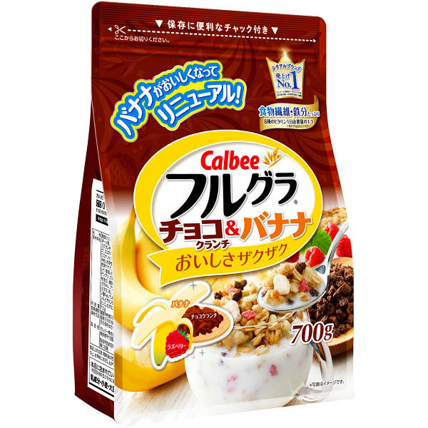 Calbee Fruit Granola With Chocolate & Banana 700g - Tokyo-On