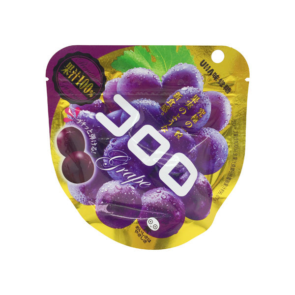 UHA Kororo Mika Kudou Grape Gummy Fruit Snack 40g - Tokyo-On