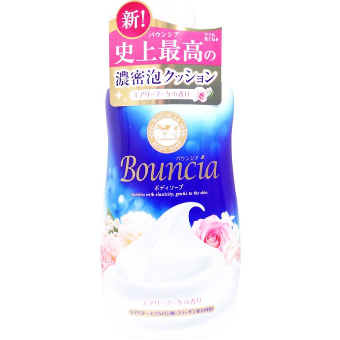 Bouncia Airy Bouquet Body Soap 500ml, Rose Scent - Tokyo-On