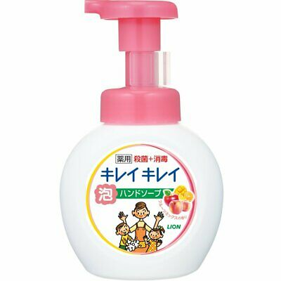 Lion Kireikirei Medicated Foam Hand Soap (Citrus Fruity) 250ml - Tokyo-On