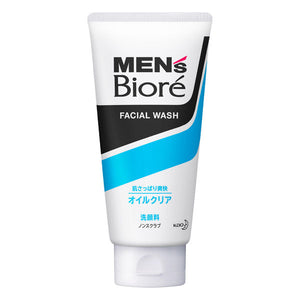 Kao Biore Men's Deep Oil Clear Facial Wash 130g - Tokyo-On