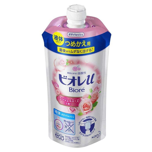 Kao Biore U Body Soap Refill 340ml | Rose - Tokyo-On