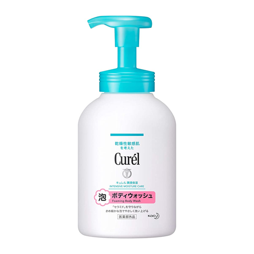 Kao Biore Curel Bubble Body Wash 480ml - Tokyo-On