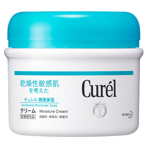 Kao Biore Curel Intensive Moisture Care Facial Cream 90g - Tokyo-On