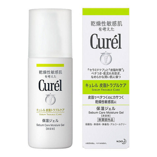 Kao Biore Curel Sebum Care Moisturizing Gel 120ml - Tokyo-On