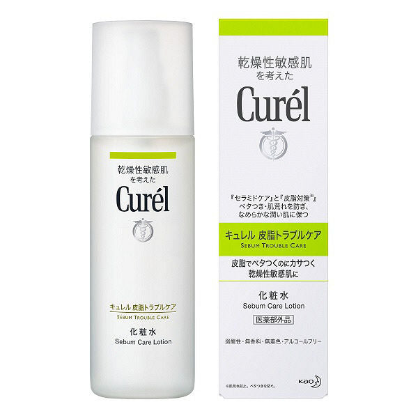Kao Biore Curel Sebum Care Moisturizing Toner 150ml - Tokyo-On