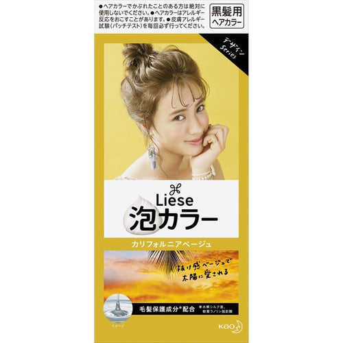 Kao Liese Prettia Bubble Color Hair Dye #California Beige - Tokyo-On