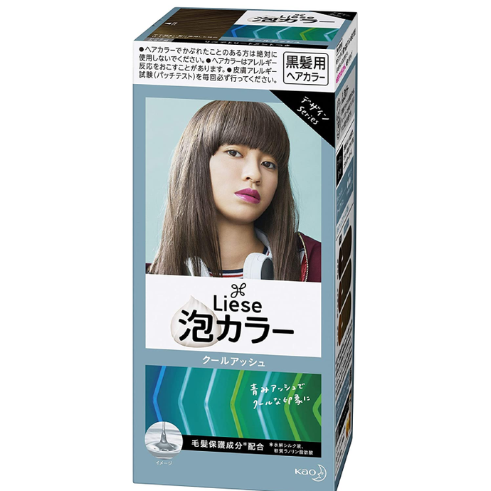 Kao Liese Prettia Bubble Color Hair Dye #Cool Ash - Tokyo-On