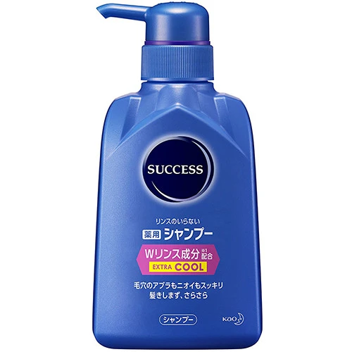Kao Success Medicated Extra Cool Shampoo W Rinse Conditioning 350ml - Tokyo-On