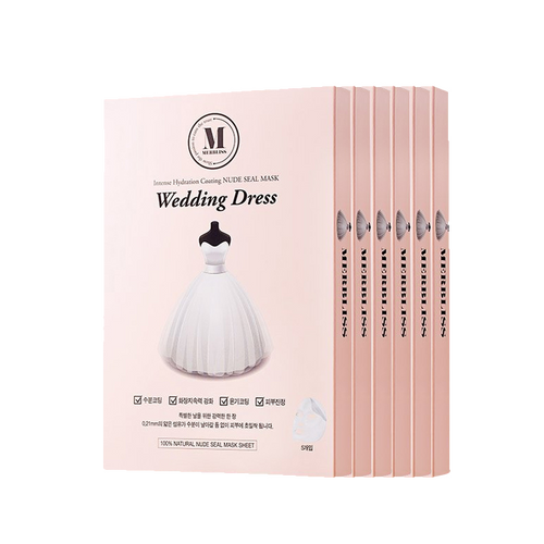 Merbliss Wedding Dress Intense Hydration Mask, 5 Sheets - Tokyo-On