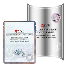 Load image into Gallery viewer, SNP Diamond Brightening Ampoule Moisture Mask, 10 Sheets - Tokyo-On