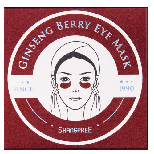 Shangpree Ginseng Berry Eye Mask, 60 Sheets - Tokyo-On