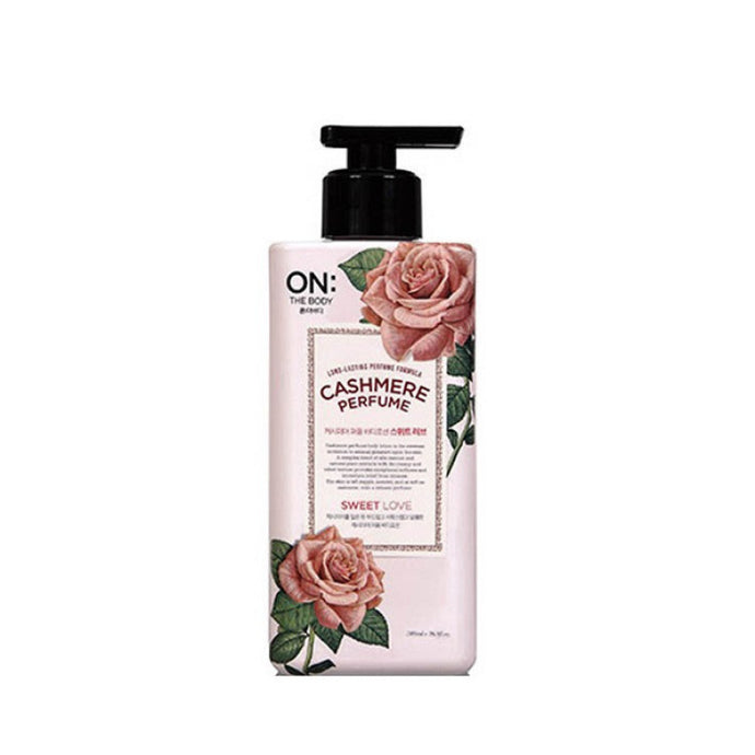 LG On The Body Cashmere Perfume Sweet Love Body Lotion 400ml - Tokyo-On