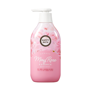 Happy Bath Damask May Rose Essence Cooling Body Wash 500ml - Tokyo-On